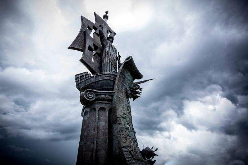La macacoa de la Estatua Colón
